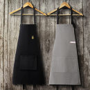apron Leather black, leather khaki, embroidery black, embroidery dark blue Sleeveless apron Simplicity pure cotton Average size LD8937 Sojia public no Solid color