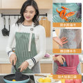 apron Green, red, khaki Sleeveless apron waterproof Japanese  other Household cleaning Average size D4512 At home public no like a breath of fresh air