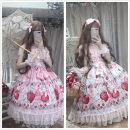 Dress Summer 2020 Average size Middle-skirt singleton  Sleeveless Sweet other Ruffle Skirt Flying sleeve camisole Type A Sauce 81% (inclusive) - 90% (inclusive) hemp Lolita