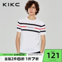 T-shirt Fashion City bleach routine 165/S 170/M 175/L 180/XL 185/XXL kikc Short sleeve Crew neck standard Other leisure summer Viscose fiber (viscose fiber) 80.9% polyamide fiber (polyamide fiber) 19.1% youth routine tide Summer of 2019 other Same model in shopping mall (sold online and offline)