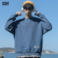 Sweater Youth fashion DZH Blue (regular) white (regular) black (regular) gray (regular) green (regular) yellow (regular) black (thickened) gray (thickened) white (thickened) blue (thickened) M L XL 2XL Solid color Socket routine Crew neck autumn easy leisure time youth tide Off shoulder sleeve cotton