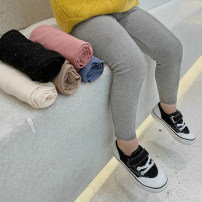 trousers Other / other female 7(90cm),9(100cm),11(110cm),13(120cm),15(130cm) Light grey, black spring and autumn trousers Korean version Leggings Leather belt Don't open the crotch F7140 Leggings 2 years old, 3 years old, 4 years old, 5 years old, 6 years old