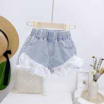 trousers Other / other female 7(100cm),9(110cm),11(120cm),13(130cm),15(140cm) Graph color summer shorts Korean version Jeans other 2 years old, 3 years old, 4 years old, 5 years old, 6 years old Chinese Mainland
