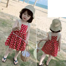 Dress gules female Other / other 7(90cm),9(100cm),11(110cm),13(120cm),15(130cm) Other 100% summer princess Skirt / vest Dot other other F5596 2 years old, 3 years old, 4 years old, 5 years old, 6 years old