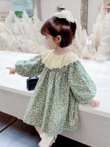 Dress Graph color female Other / other 7(90cm),9(100cm),11(110cm),13(120cm),15(130cm) Other 100% spring and autumn Korean version Long sleeves Broken flowers other other F7237 2 years old, 3 years old, 4 years old, 5 years old, 6 years old Chinese Mainland