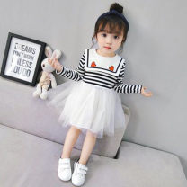 Dress Graph color female Other / other 7(90cm),9(100cm),11(110cm),13(120cm),15(130cm) Other 100% spring and autumn Korean version Long sleeves other other F5774 2 years old, 3 years old, 4 years old, 5 years old, 6 years old Chinese Mainland