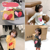 T-shirt Other / other 7(90cm),9(100cm),11(110cm),13(120cm),15(130cm) female spring and autumn Long sleeves Crew neck leisure time nothing other Cartoon animation 2 years old, 3 years old, 4 years old, 5 years old, 6 years old