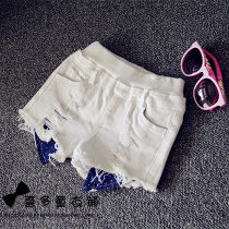 trousers Other / other female 7 9 11 13 15 Graph color summer shorts Versatile F3023 trousers