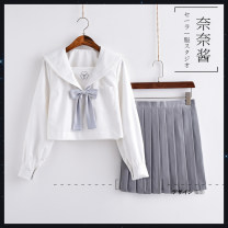 student uniforms Spring 2018, summer 2018, autumn 2018, winter 2018 S,M,L,XL,XXL Short sleeve solar system skirt 18-25 years old Other / other