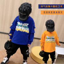 Sweater / sweater Other / other Xhh sweater blue spot, xhh sweater orange spot, xhh sweater blue pre-sale, xhh sweater orange pre-sale male 90cm,100cm,110cm,120cm,130cm,140cm,150cm,160cm spring and autumn nothing leisure time Socket routine There are models in the real shooting cotton Cotton liner