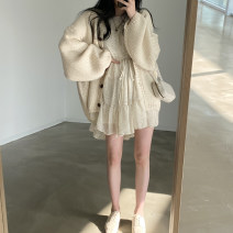 Fashion suit Spring 2021 Average size Skirt, sweater 18-25 years old 31% (inclusive) - 50% (inclusive) cotton