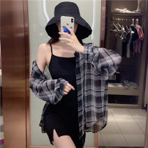 Fashion suit Summer 2020 Average size Shirt piece, suspender skirt piece 18-25 years old T787# 51% (inclusive) - 70% (inclusive) cotton
