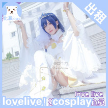 Cosplay women's wear suit goods in stock Over 3 years old Headdress + clothes [rent], [deposit], headdress + crown + wig + clothes + shoes [rent], holding flowers [rent] Games, anime M Three dimensional gentleman Chinese Mainland Royal sister model Glory of Kings Flower married Lolita princess skirt