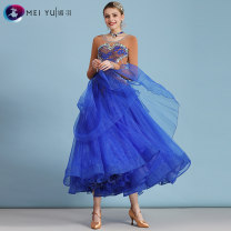 Modern dance suit (including performance clothes) Meiyu Waltz Tango Foxtrot female Red royal blue yellow S M L XL XXL other MY828 Spring 2020