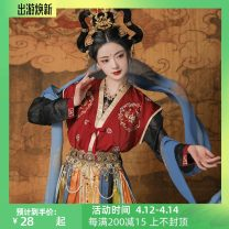 Hanfu 96% and above S. M, l, XL, one size fits all polyester fiber