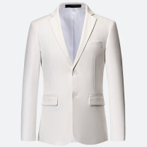man 's suit Green Dam Youth fashion routine M L XL 2XL 3XL 4XL 5XL 6XL LB8933, Polyester 100% Spring of 2019 Self cultivation Double breasted Other leisure Back middle slit Pure e-commerce (online only) youth Long sleeves spring routine tide Casual clothes Flat lapel other other No iron treatment