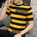 T-shirt Youth fashion routine M L XL 2XL 3XL Tkz Short sleeve Crew neck Self cultivation Other leisure autumn youth routine tide Knitted fabric Autumn of 2019 No iron treatment Fashion brand Pure e-commerce (online only)