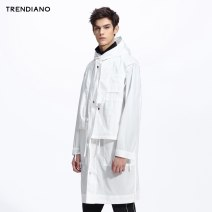 Windbreaker Beibai 010 dark blue 650 Trendiano Fashion City S M L XL zipper have more cash than can be accounted for easy Other leisure spring youth tide 3JI1040140 Polyester 100% Solid color Zipper decoration polyester fiber Spring 2017 Same model in shopping mall (sold online and offline)