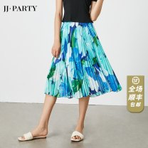 skirt Spring 2021 XS,S,M,L,XL Impatiens red, Nerium pink, cloisonne, pine leaf peony red, yanyanlan, stone green iris blue, peony red Mid length dress Versatile High waist Pleated skirt Decor Type A 30-34 years old JAMZ020S076-4 81% (inclusive) - 90% (inclusive)