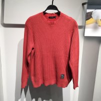 T-shirt / sweater Peacebird Fashion City Watermelon red 165/S,170/M,175/L,180/XL,185/100 2XL,185/104 3XL routine Socket Crew neck Long sleeves B1EBB1178 spring easy Cotton 100% leisure time tide youth routine other other