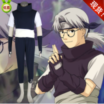 Cosplay men's wear suit goods in stock Shangyi animation Over 8 years old 5-piece suit comic Naruto
