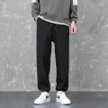 Casual pants NGGGN Youth fashion D138 black d138 dark grey XXL XXXL M L XL 4XL routine trousers Other leisure easy Micro bomb D138-245457 autumn youth tide 2020 Little feet Polyester 100% Sports pants No iron treatment polyester fiber Autumn 2020 Pure e-commerce (online only) More than 95%