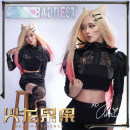 Cosplay women's wear Other women's wear goods in stock Over 14 years old clothing game L,M,S,XL Amber River in the moon Chinese Mainland Cos League of Heroes KDa Ali