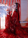 National costume / stage costume Spring of 2019 S,M,L,XL Time in Han Dynasty 18-25 years old