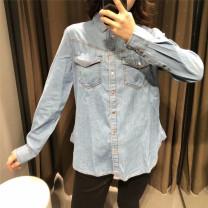 shirt Light blue, light gray, dark XS,S,M,L Autumn of 2019 other 51% (inclusive) - 70% (inclusive)