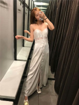 Dress Summer of 2019 milky white XS,S,M,L singleton  51% (inclusive) - 70% (inclusive) other