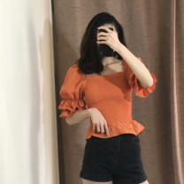 shirt Orange red S,M,L Spring 2020 other 51% (inclusive) - 70% (inclusive)
