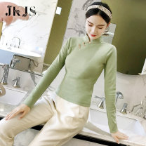 jacket Spring 2021 S M L XL JK&JS 25-35 years old cotton Cotton 95.7% polyurethane elastic fiber (spandex) 4.3% Pure e-commerce (online only)
