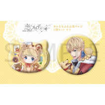 Cartoon card / Pendant / stationery Badge / button Love and producer Over 14 years old goods in stock Japan Jiaochuan badge