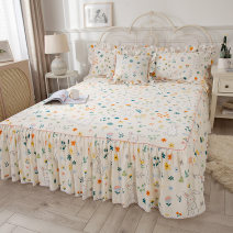 Bed skirt cotton Zetian Plants and flowers Qualified products ZTX20/12/2403