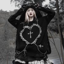 Sweater / sweater Winter 2020 Snowflake love sweater on Christmas Eve M, L Other / other