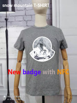 T-shirt Youth fashion Gray, black, white routine S,M,L,XL,2XL Others Short sleeve Crew neck Self cultivation Other leisure summer youth routine tide Cotton wool printing cotton Creative interest No iron treatment