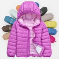 Down Jackets 110cm,120cm,130cm,140cm,150cm,160cm,170cm 90% White duck down Children, female, male Other / other polyester have cash less than that is registered in the accounts No detachable cap Zipper shirt Solid color