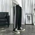 Casual pants Others Youth fashion A11 sweatpants men's black, a11 sweatpants men's gray M size suggests 105-120 Jin, L size 115-130 Jin, XL SIZE 125-140 Jin, 2XL size 135-150 Jin, 3XL size 145-160 Jin, 4XL size 155-175 Jin routine trousers Other leisure easy A11 Four seasons 2020 Straight cylinder