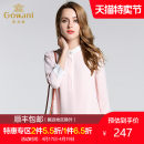 shirt Pink S L XL XXL Fall 2017 polyester fiber 96% and above Long sleeves Versatile Regular stand collar Socket shirt sleeve Solid color 35-39 years old Gowani / Giovanni EL3C848100 Polyester 96.6% regenerated cellulose 3.4%