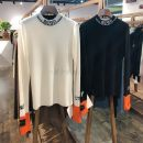 Wool knitwear Winter of 2019 S,M,L Milky white, black Long sleeves singleton  Socket wool 30% and below Regular thick commute Self cultivation Half height crew neck routine Color matching Socket Retro 1992 25-29 years old Other / other