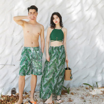 Couple swimsuit Xi Qi S M L XL XXL Spandex polyester others Winter of 2018 no female
