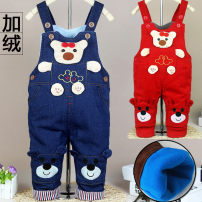 trousers Other / other neutral spring and autumn trousers leisure time No model rompers Button High waist corduroy Open crotch 12 months, 18 months, 2 years, 3 years old