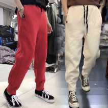 Casual pants S M L XL Winter of 2018 trousers Haren pants High waist street routine 18-24 years old Angel love Other 100% Pure e-commerce (online only) Europe and America