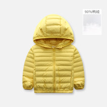 Down Jackets 110cm,120cm,130cm,140cm,150cm 90% White duck down children singbail polyester have cash less than that is registered in the accounts No detachable cap Zipper shirt Solid color Class C Polyester 100% Polyester 100% Three, four, five, six, seven, eight