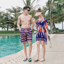 Couple swimsuit Xizi customization M,L,XL,XXL,XXXL,4XL Men's, women's 21318 lovers Others, nylon, spandex, polyester currency
