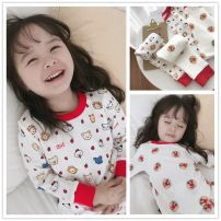 Home suit Other / other 80cm,90cm,100cm,110cm,120cm,130cm Clown, kit spring and autumn neutral Cotton 100% 12 months, 18 months, 2 years old, 3 years old, 4 years old, 5 years old, 6 years old, 7 years old Keep warm, absorb moisture and sweat, stay at home cotton Class A