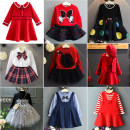 Dress female Other / other 90cm / 7, 100cm / 9, 110cm / 11, 120cm / 13, 130cm / 15 Cotton 80% other 20% spring and autumn Korean version Long sleeves cotton A-line skirt qck100 Class B 2, 3, 4, 5, 6, 7, 8, 9, 10 years old
