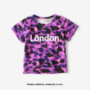 T-shirt Purple camouflage Lu Xilong 90cm (about 90 for tag 90) 100cm (about 100 for tag 100) 110cm (about 110 for tag 110) 120cm (about 120 for tag 120) 130cm (about 130 for tag 130) 140cm (about 140 for tag 140) 150cm (about 150 for tag 150) male summer Short sleeve Crew neck Korean version No model