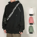Sweater Youth fashion Zoffrey Pink black white green 4XL 5XL M L XL 2XL 3XL other Socket routine Hood spring easy leisure time teenagers tide routine whxds973ljf polyester fiber Polyester 100% polyester fiber printing No iron treatment Spring 2021 Kangaroo pocket Pure e-commerce (online only)