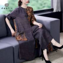 Fashion suit Spring 2021 M L XL 2XL 3XL 4XL 5XL Decor Over 35 years old Diebaolian 9558-1 silk Other 100% Pure e-commerce (online only)